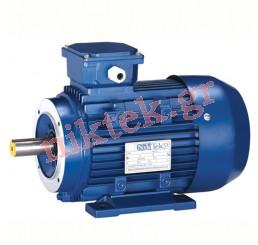 Electric Motor - MS - 0.37 kW - 0.5 HP - 380V/50Hz - 2Poles - Β3-14