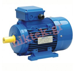 Electric Motor - MS - 0.18 kW - 0.25 HP - 380V/50Hz - 4Poles - Β3