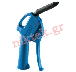 Blow gun with composite nozzle