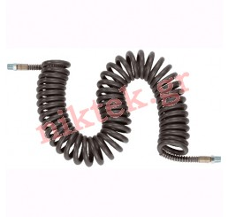 Rigid male fitting - Special Welding Enviroment D6.5*12 L7.5 Black