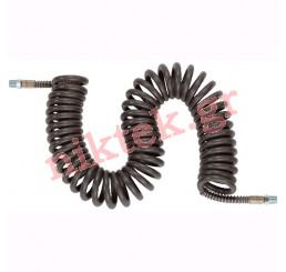 Rigid male fitting - Special Welding Enviroment D8*14 L7.5 Black