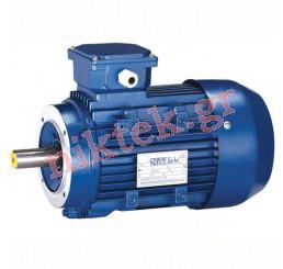 Electric Motor - MS - 0.37 kW - 0.5 HP - 380V/50Hz - 2Poles - Β14