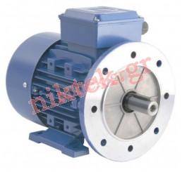 Electric Motor - MS - 0.12 kW - 0.16 HP - 380V/50Hz - 4Poles - Β5