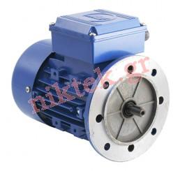 Electric Motor - MS - 0.75 kW - 1 HP - 380V/50Hz - 2Poles - Β5