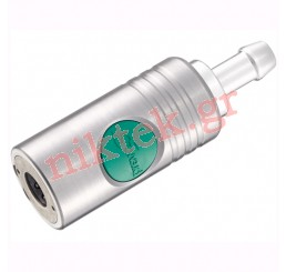 Tαχυσύνδεσμος με ρακόρ για λάστιχο Ø 9 mm ESI 11