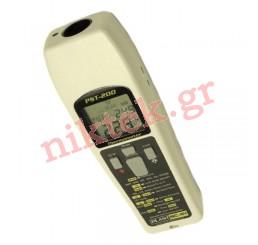 PST-200 Επαγγελματικο Ηλεκτρονικό Διπλό Θερμόμετρο με λέιζερ (Υπέρυθρων Ακτίνων & Επαφής)